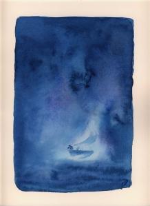 barca blu bassa risoluzione