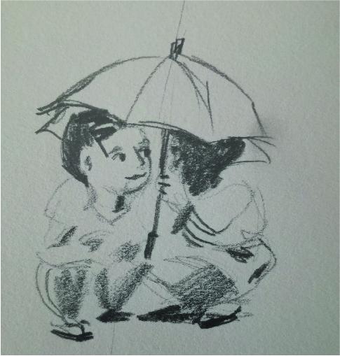 sotto la pioggia ok